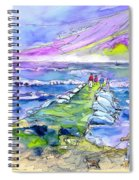 Biarritz 20 Spiral Notebook