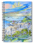 Biarritz 26 Spiral Notebook