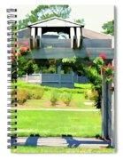 Bicentennial Rose Garden Spiral Notebook