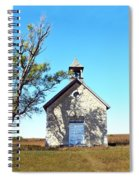 Bichet School In Autumn Spiral Notebook