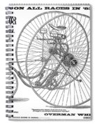 Bicycle, 1884 Spiral Notebook