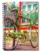 Bicycle Art Spiral Notebook