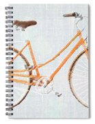 Bicycle Blues Spiral Notebook