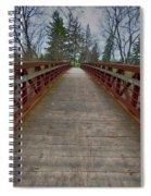 Bicycle Bridge - Niagara On The Lake Spiral Notebook