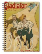 Bicycle Poster, 1895 Spiral Notebook