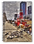 Bicycles In Rotterdam, Netherlands Spiral Notebook