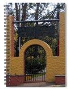 Bienvenidos A Santa Lucia Spiral Notebook