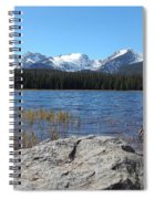 Bierstadt Lake In Rocky Mountain National Park Spiral Notebook