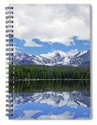 Bierstadt Lake Panorama Spiral Notebook