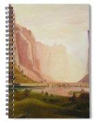 Bierstadt Rendition Spiral Notebook