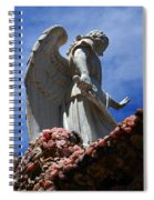 Big Angel Wings Spiral Notebook