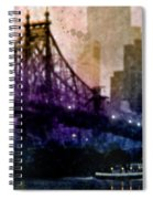 Big Apple Shadows Spiral Notebook