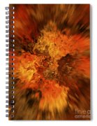 Big Band - Fiery Cloud Spiral Notebook