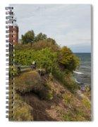 Big Bay Point Lighthouse 2 Spiral Notebook
