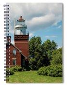 Big Bay Point Lighthouse Spiral Notebook