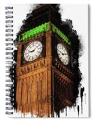 Big Ben In London Spiral Notebook