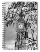 Bw Big Ben London Spiral Notebook