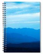 Big Bend Blue Haze Spiral Notebook