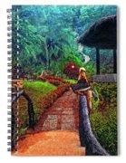 Big Bird Painted Version Spiral Notebook