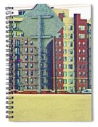 Big Boxes On The Hillside Spiral Notebook