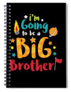 Big Brother Space Theme Light Promotion Spiral Notebook