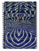 Big Building Abstract Spiral Notebook