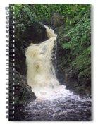 Big Burn Waterfall Spiral Notebook