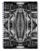 Big Bus To Anywhere Spiral Notebook