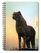 Big Cats 104 Spiral Notebook