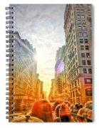 Big City, Bigger Life Spiral Notebook