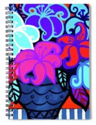 Big Colorful Lillies 2 Spiral Notebook