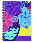 Big Colorful Lillies Spiral Notebook