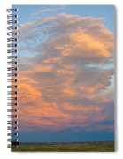 Big Country Sunset Sky Spiral Notebook