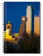 Big D Up Close Spiral Notebook