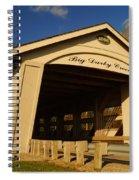 Big Darby Creek Covered Bridge Spiral Notebook