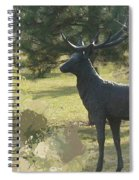 Big Deer Spiral Notebook