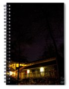 Big Dipper Over Hike Inn Spiral Notebook