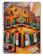 Big Easy Sunset Spiral Notebook