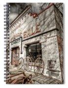 Big Garage Sale Spiral Notebook