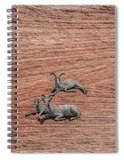 Big Horned Sheep Of Zion Spiral Notebook