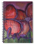 Big Love Poppies Spiral Notebook