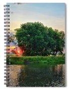 Big Marsh Sun Spiral Notebook