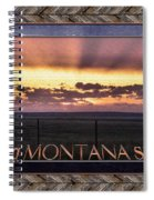 Big Montana Sky Spiral Notebook