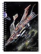 Big, Old Space Shuttle Of Dead Civilization Spiral Notebook