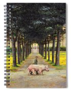 Big Pig - Pistoia -tuscany Spiral Notebook