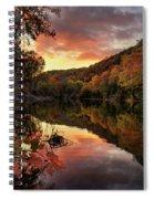 Big Piney Sunset Spiral Notebook