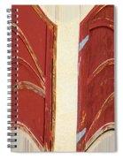 Big Red Doors Spiral Notebook