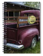 Big Red Ford Truck Spiral Notebook