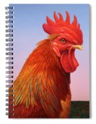 Big Red Rooster Spiral Notebook