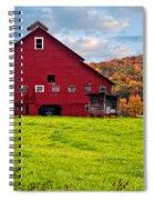 Big Red Spiral Notebook